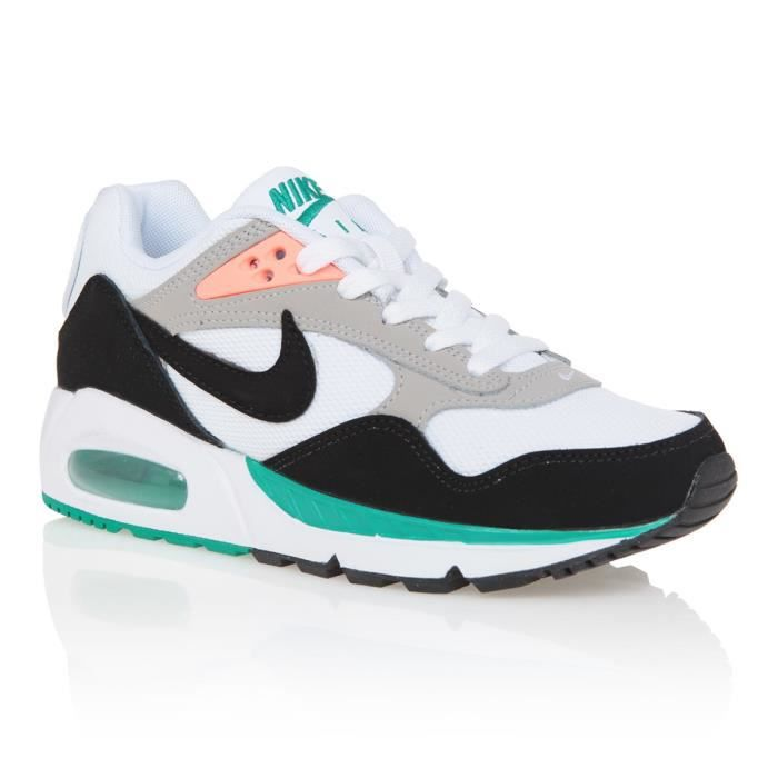 NIKE Baskets Air Max Correlate - Femme - Blanc, noir et vert