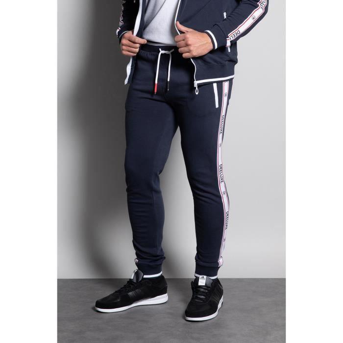 Pantalon de jogging à bandes SODYO - Navy