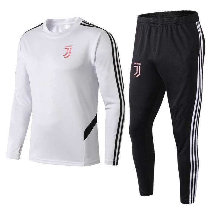 Survêtements Foot Homme Juventus - Maillot Foot Homme 20-21 Survêtements Foot Maillot de Foot - Haut et Pantalon