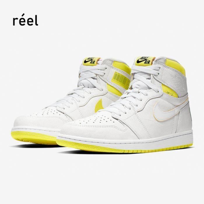 Basket Airs Jordans 1 Retro High Chaussure de Sport AJ 1 Pas Cher pour DC0350-100 Homme Femme
