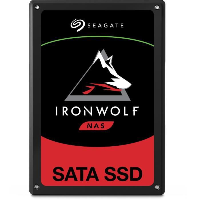 Seagate Disque Ssd Interne Ironwolf 110 Nas 480Go 2,5