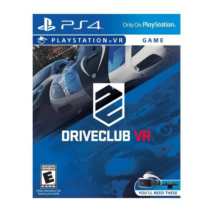 Sony DriveClub - Playstation Vr NYOKB