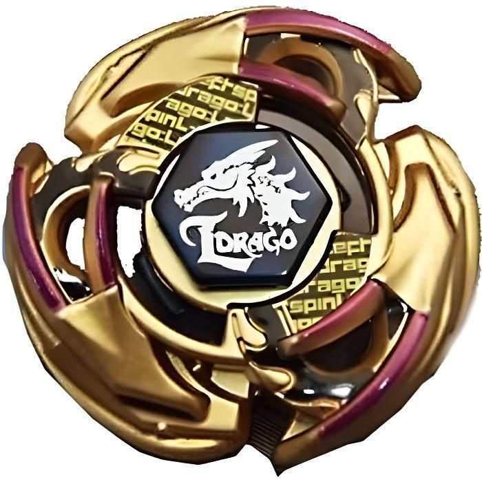 Takara Tomy Toupie Beyblade Officielle L-Drago 105F Version Collector Gold avec Lanceur Inclus - Beyblade Originale