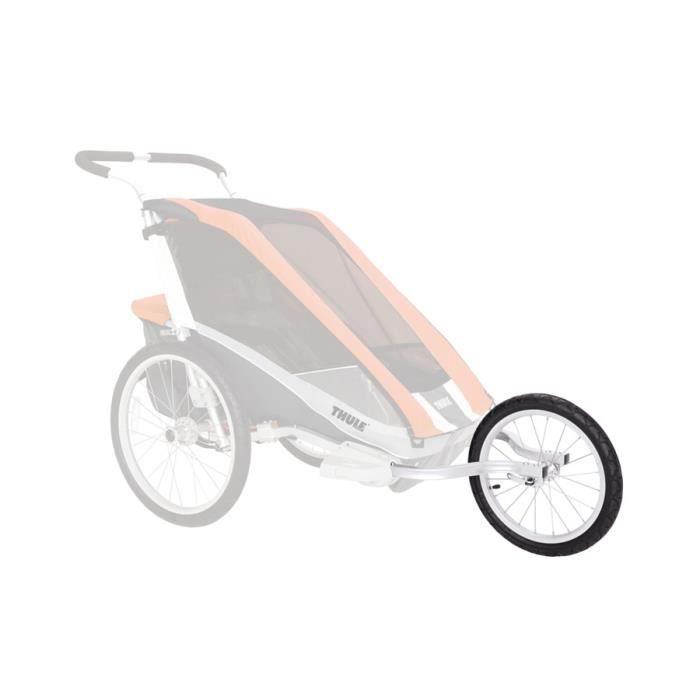 Thule Jogging Set CX1 - Remorque - gris/noir