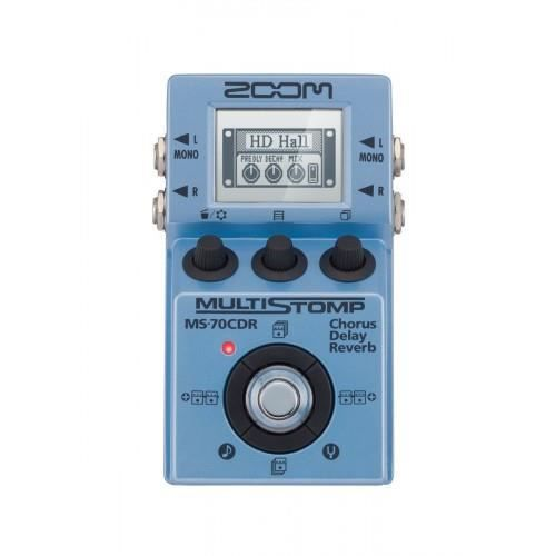 Zoom MS-70CDR - Multi effets guitare