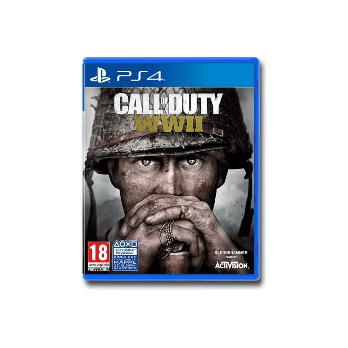 JEU PS4 Call of Duty World War II PlayStation 4 italien