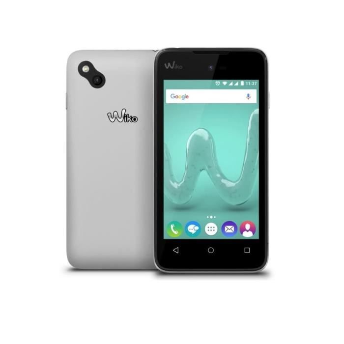 smartphone wiko sunny pure blanc dual sim 8go. Black Bedroom Furniture Sets. Home Design Ideas