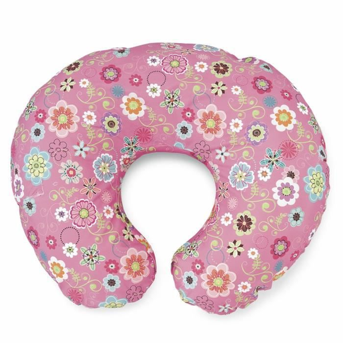 Polyester Wild Flowers Chicco Boppy Coussin avec Housse Coton