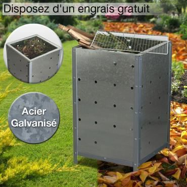incin rateur v g taux de jardin achat vente incinerateur cdiscount. Black Bedroom Furniture Sets. Home Design Ideas