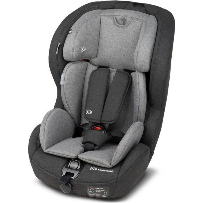 9à 36kg Groupe 1//2//3 4Kraft Noir Kinderkraft Safe tyfix Siège enfant Isofix Siège auto pour enfant