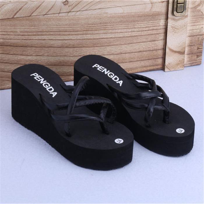 Bottes en Caoutchouc 39 Chaussures Basses Pantoufles Neuf Noir