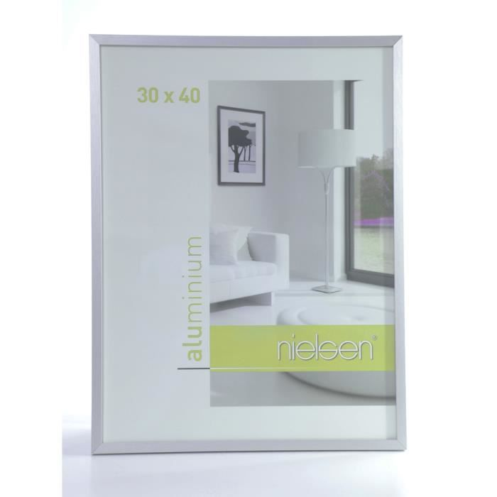 cadre photo alu achat vente cadre photo alu pas cher cdiscount. Black Bedroom Furniture Sets. Home Design Ideas