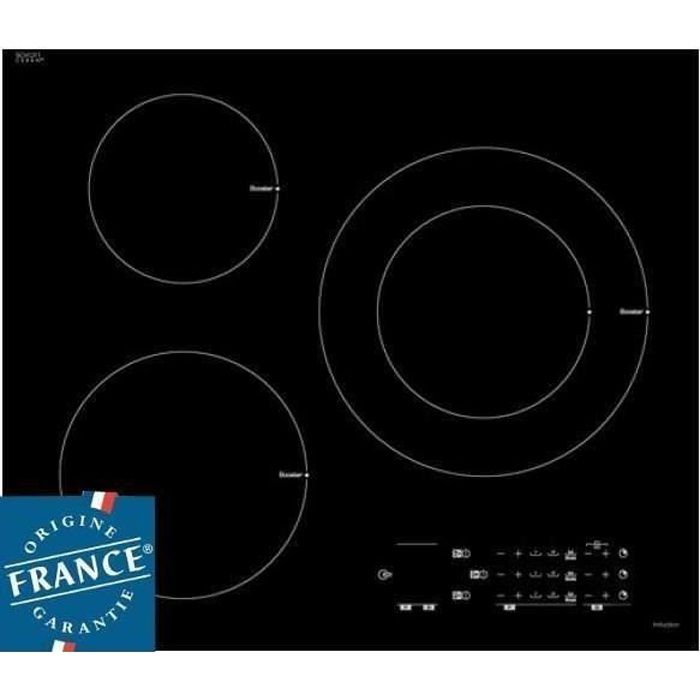 Sauter spi6361b table induction 3 zones achat vente plaque induction cd - Table de cuisson induction sauter ...