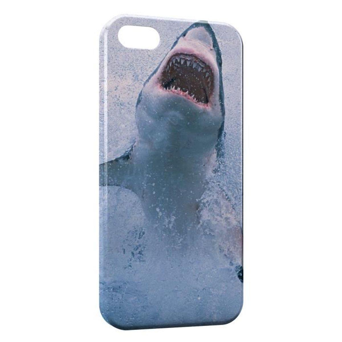 coque iphone 11 requin