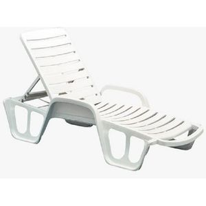 chaise longue de jardin en plastique achat vente. Black Bedroom Furniture Sets. Home Design Ideas