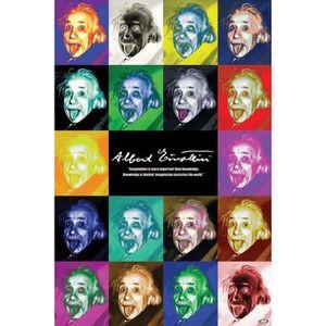 61cm x 91,5cm ALBERT EINSTEIN POSTER Affiche
