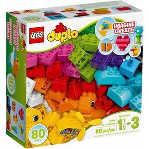 ASSEMBLAGE CONSTRUCTION LEGO® DUPLO 10848 Mes Premières Briques