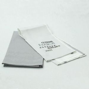 10 x Uni Crème 100/% Coton Torchon ourlés sur les 4 côtés-Taille 48 cm x 78 cm