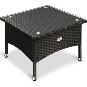 TABLE BASSE JARDIN  Table d'appoint -  50x50 x45cm - Maison/Jardin