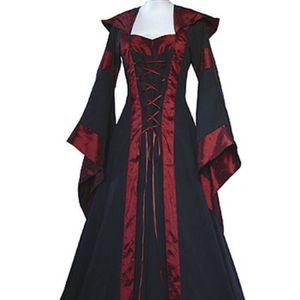 DÉGUISEMENT - PANOPLIE Femmes Médiévales Robes Reine Halloween Costume Dé