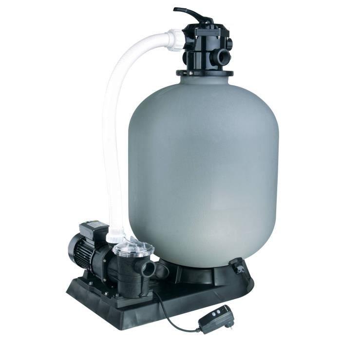 Kit de Filtration à sable pour piscine - 13m3/h