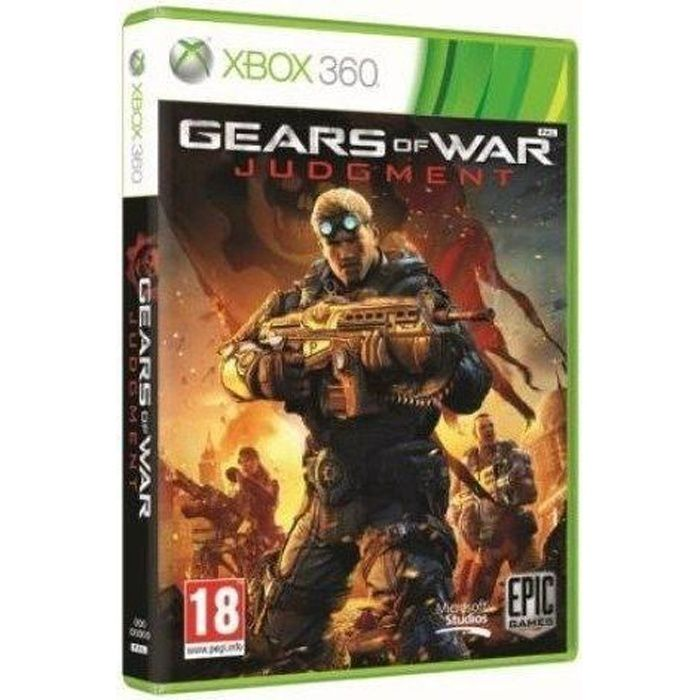 JEUX XBOX 360 Gears Of War Judgment Jeu Xbox 360