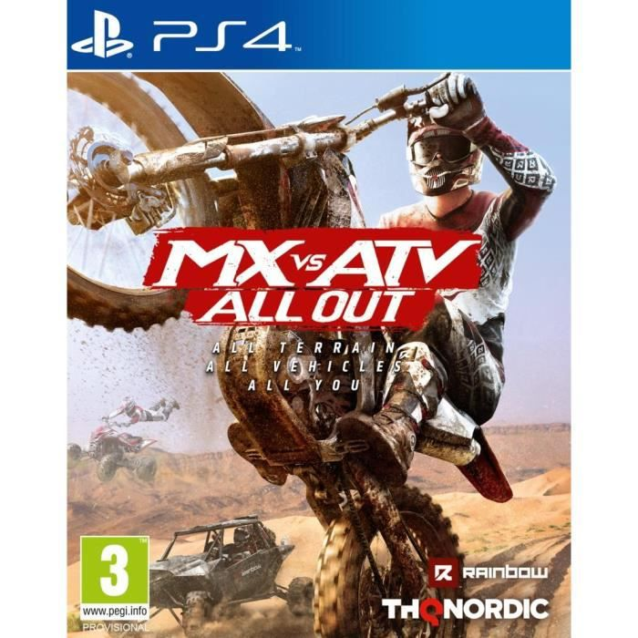 MX vs ATV: All Out Jeu PS4