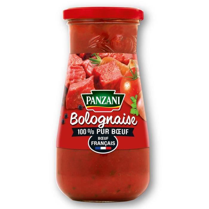 PANZANI Bolognaise 100% pur boeuf - 650G