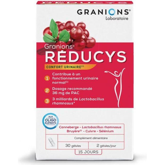 GRANIONS® REDUCYS (BTE 30 GÉLULES)