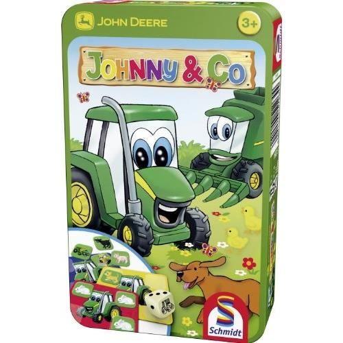 SCHMIDT AND SPIELE Jeu de poche - John Deere - Johny & Co.
