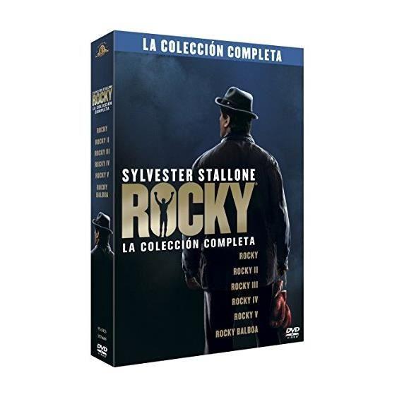 Rocky + Rocky II + Rocky III + Rocky IV + Rocky V + Rocky Balboa (PACK ROCKY: LA COLECCION COMPLETA, Importé d'Espagne, langues
