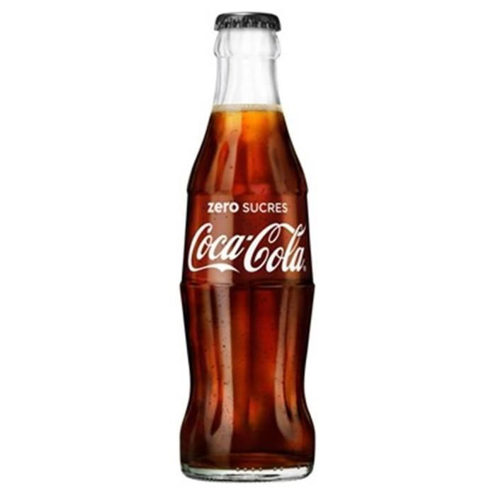 Coca-Cola Zéro 25 cl Verre 12 x 25 cl