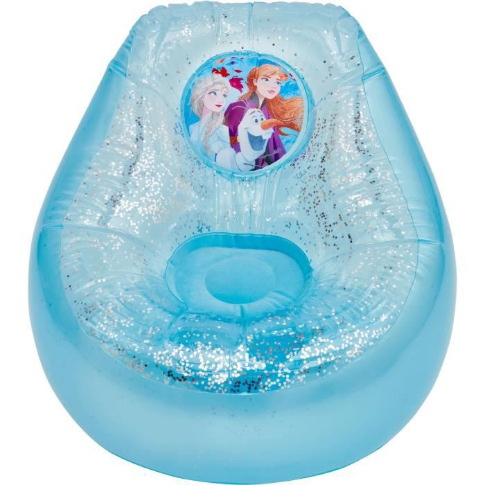 Disney La Reine des Neiges - Fauteuil poire gonflable pour enfants