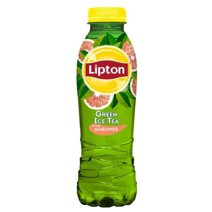 Lipton Ice Tea Green Agrumes 50cl (pack de 12)