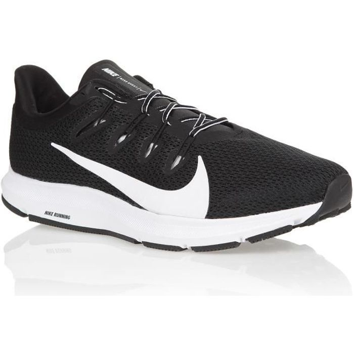 NIKE Chaussures de running NIKE QUEST 2 HOMME Noir/Blanc