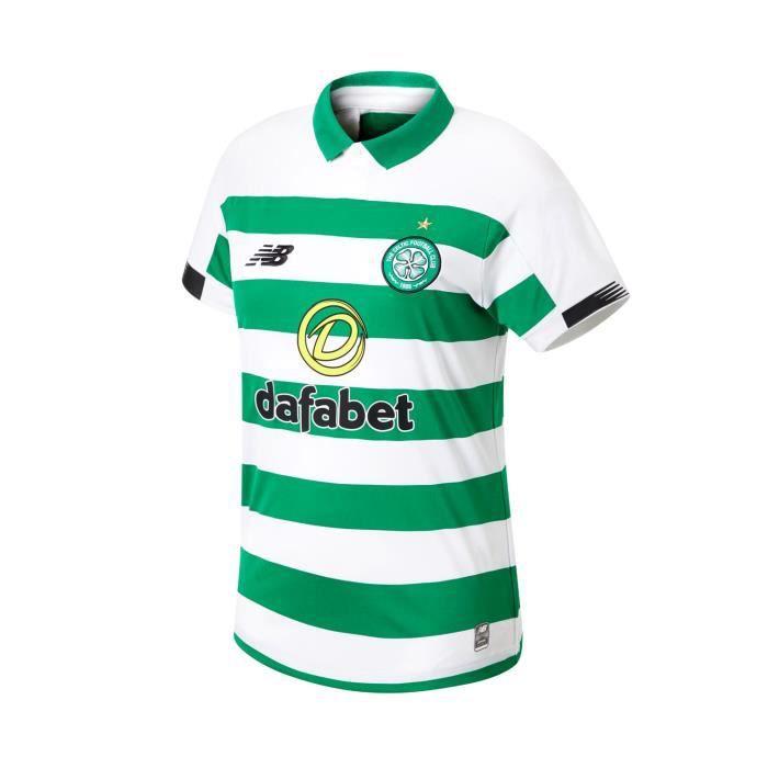 New Balance Celtic FC 2019/20 Maillot de foot Domicile Femmes Blanc / Vert