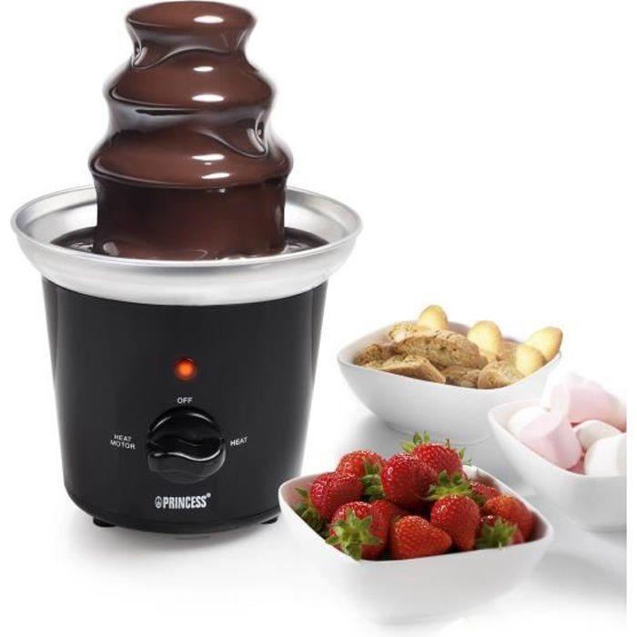 PRINCESS 292994 Fontaine à chocolat électrique - Noir