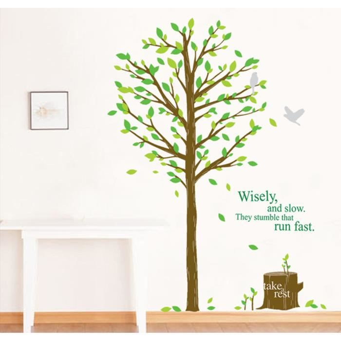 sticker muraux arbre achat vente sticker muraux arbre. Black Bedroom Furniture Sets. Home Design Ideas
