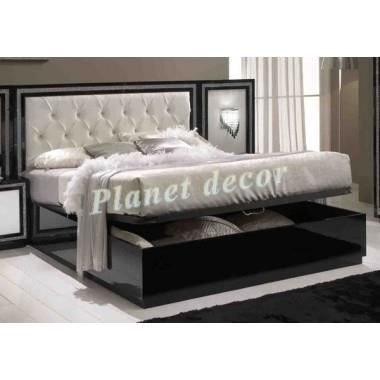 lit coffre krystel 160x200 achat vente ensemble literie cdiscount. Black Bedroom Furniture Sets. Home Design Ideas
