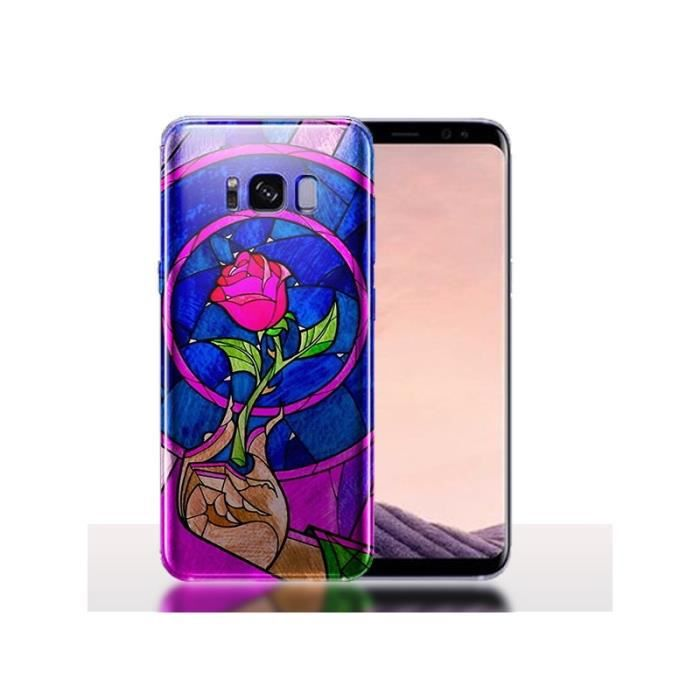 Coque Samsung S8 Belle et la Bete - Coque téléphon