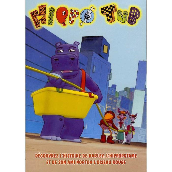 DVD DESSIN ANIMÉ DVD HIPPO TUB - 6 EPISODES