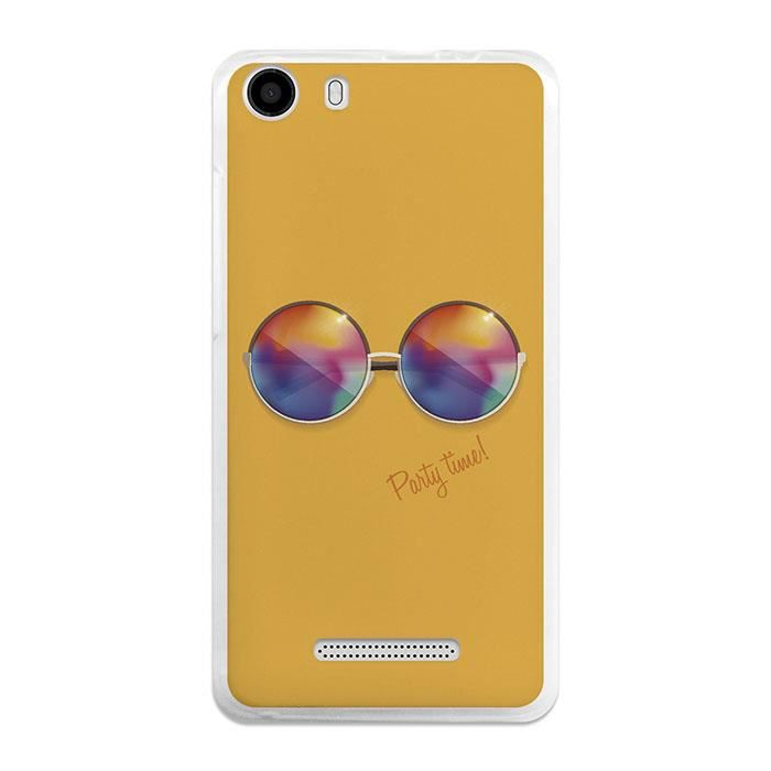 Housse gel wiko lenny 2 becool lunettes rondes achat for Housse wiko lenny 4