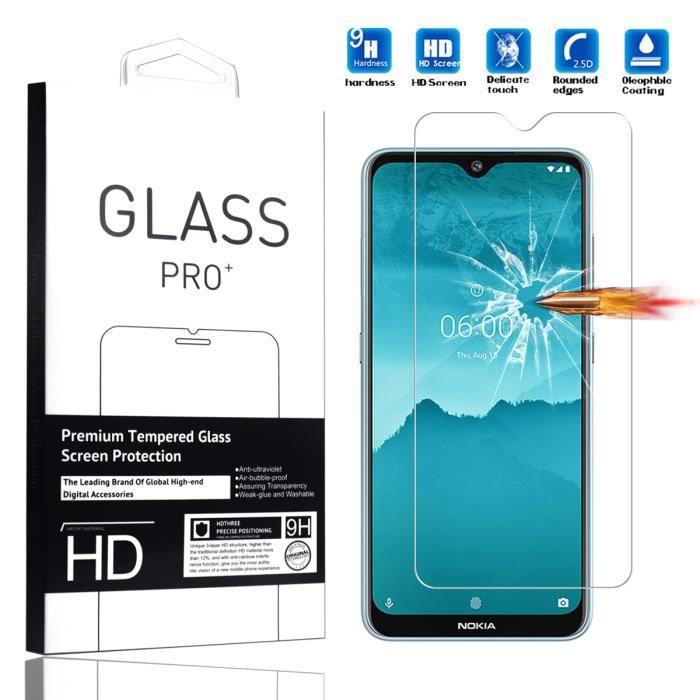 9H Verre /écran Film Protection . 2 Pi/èces Verre tremp/é pour Nokia 5.3 Poney Cool JIENI Coque Transparent Silicone Housse Etui Souple TPU Cover Case 6.55 Pouces