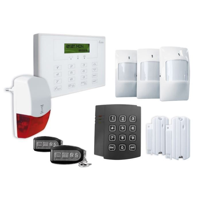 Kit alarme maison for Alarmes maison somfy