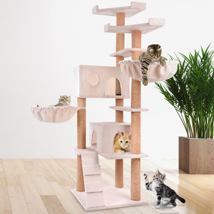 arbre a chat mural achat vente arbre a chat mural pas cher cdiscount. Black Bedroom Furniture Sets. Home Design Ideas