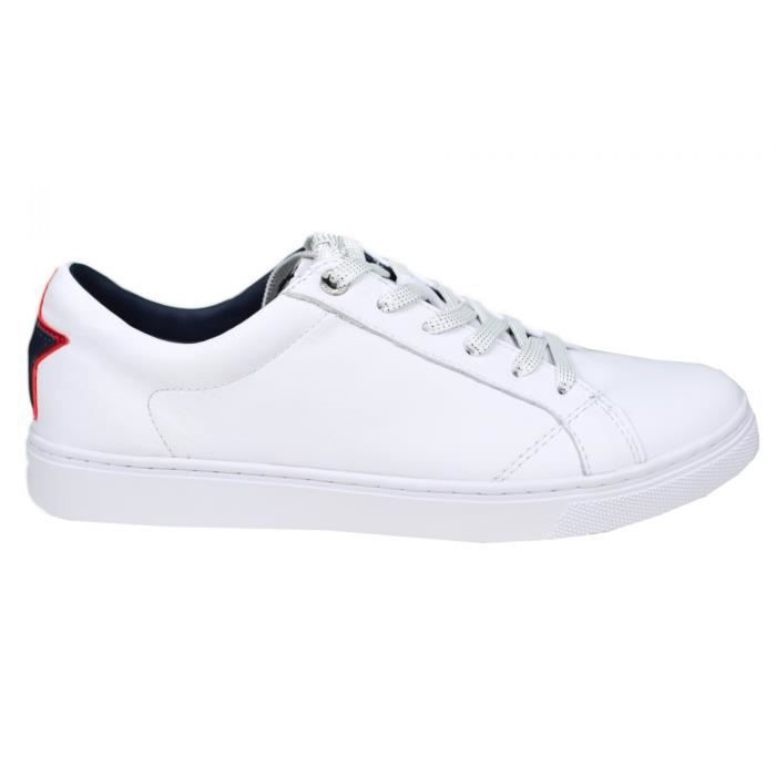 Baskets Tommy Hilfiger Mount blanches pour homme