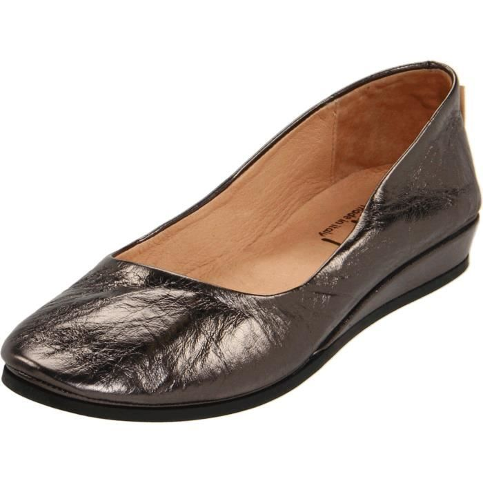 French Sole Zeppa Slip On Shoes Z3R8R Taille-37