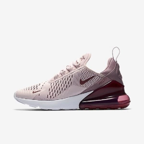 2733f8dc875dd Baskets Nike Air Max 270 -601 Running Chaussures Rose Rose - Achat ...