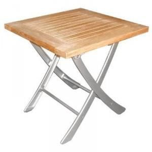 Sun d koh table basse carr e fixo pliable en achat vente table basse - Hauteur d une table basse ...