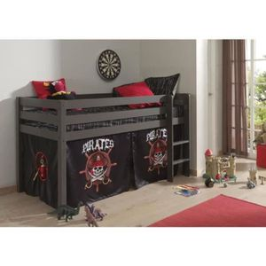 lit pirate toboggan achat vente lit pirate toboggan. Black Bedroom Furniture Sets. Home Design Ideas